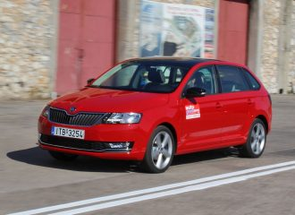 Δοκιμή Skoda Rapid Spaceback 1.0 TSI 95 PS DSG