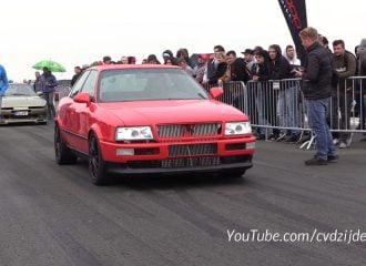 Audi 80 με κινητήρα VR6 πιάνει τα 290 χλμ./ώρα (+video)