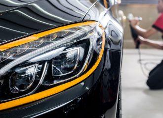 Γυάλισμα φαναριών Mercedes και προσφορές σε μικροεπισκευές
