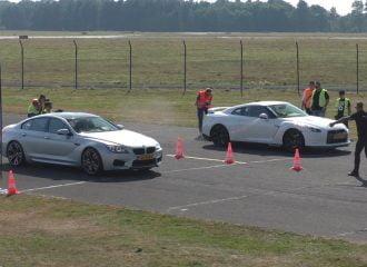 BMW M6 στήνεται με κάθε λογής σπορ αυτοκίνητα (+video)