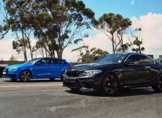 Πισωκίνητο εναντίον τετρακίνητου ή αλλιώς BMW M2 vs Audi RS3 (+video)