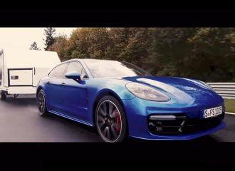 Porsche Panamera έκανε ρεκόρ στο Ring με τρέιλερ! (+video)