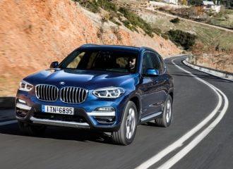 Οι τιμές της νέας BMW X3 στην Ελλάδα