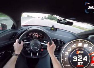 Audi R8 με 802 άλογα πετάει! (+video)