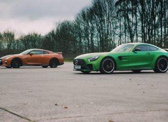 Ιαπωνία vs Γερμανίας ή αλλιώς Mercedes-AMG GT R vs Nissan GT-R (+video)
