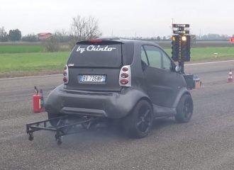 Αυτό το smart TDI έχει 230 ίππους και τρέχει σε dragster (+video)