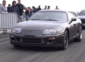 Toyota Supra με 1.050 ίππους 300αρίζει σε 800 μέτρα! (+video)
