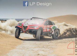 Αν η Alfa έτρεχε στο Dakar
