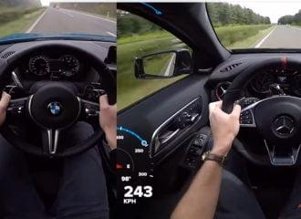 BMW M2 vs Mercedes-AMG A 45: Κόντρα στα 250 χλμ./ώρα (+video)