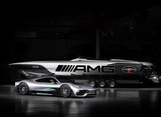 Η Mercedes-AMG Project One σε… ταχύπλοο 3.100 PS