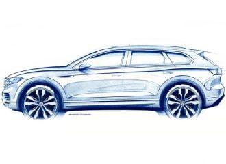 Αποκάλυψη του νέου Volkswagen Touareg