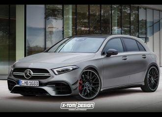 Με 400+ άλογα η νέα Mercedes-AMG Α 45