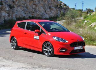 Δοκιμή Ford Fiesta ST-Line 1.0 λτ. EcoBoost 140 PS