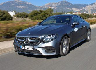 Δοκιμή Mercedes E 220 d Coupe (+videos)