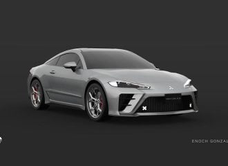 Σχεδιαστική αναγέννηση του Mitsubishi Eclipse