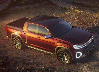 Νέο pickup Volkswagen Atlas Tanoak