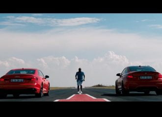 BMW M4 Competition vs  Audi RS5 (+video)