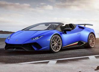 Ανοικτή Lamborghini με 325 χλμ./ώρα τελική (+video)
