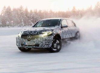 Η Mercedes «βασανίζει» το πρώτο της ηλεκτροκίνητο