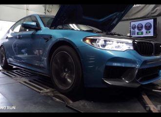 Πόσα άλογα βγάζει στο δυναμόμετρο η νέα BMW M5; (+video)