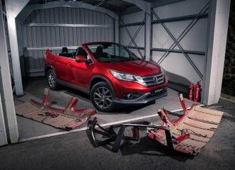 Honda CR-V χωρίς οροφή με αδιάβροχο εσωτερικό