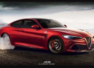 Νέες εικόνες για την Alfa Romeo Giulia Coupe
