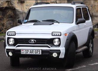 Πωλείται το πιο πολυτελές Lada Niva (+video)