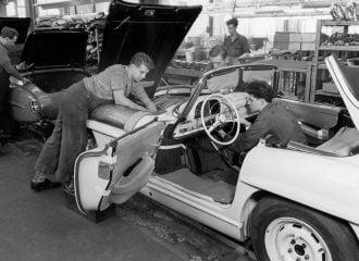 Γνωρίζετε πότε η Mercedes κατείχε την Audi;