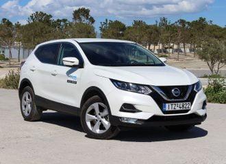 Nissan Qashqai με μηναία δόση από 199 ευρώ