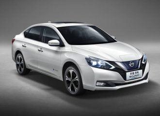 Νέο ηλεκτρικό σεντάν Nissan Sylphy με βάση το Leaf