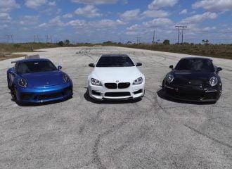 BMW M6 τα βάζει με Porsche 911 GT3 (+video)