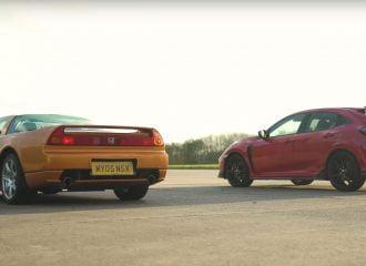 Εμφύλιος Honda: NSX vs Civic Type R (+video)
