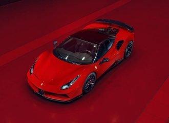 Φωτιά στα κόκκινα η βελτιωμένη Ferrari 488 GTB