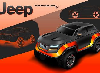 Έτσι θα μοιάζει το μελλοντικό Jeep Wrangler