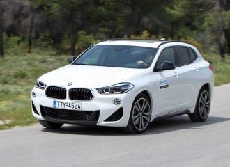 Δοκιμή BMW X2 sDrive20i 192 PS