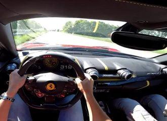 Ferrari 812 Superfast 800 PS «πετάει» στην εθνική (+video)