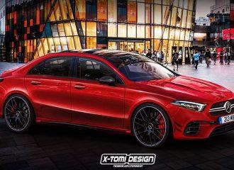 Δείτε τη μελλοντική Mercedes-AMG A 45 Sedan