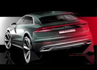 Νέο σκίτσο του Audi Q8 (+video)