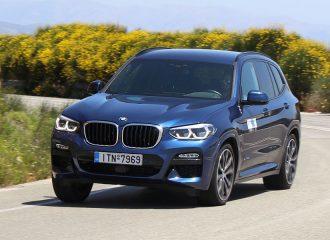 Δοκιμή BMW X3 xDrive20d