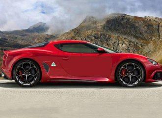 Η νέα Alfa Romeo 8C θα έχει 700+ ίππους