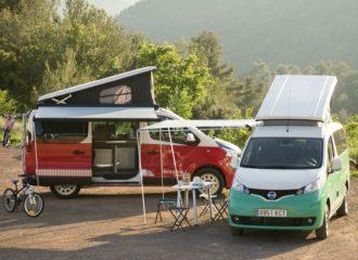 Ξέγνοιαστο καλοκαίρι με Nissan e-NV200 και NV300 Camper