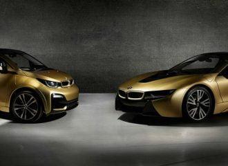 BMW i8 και i3 Starlight Edition σκέτο χρυσάφι