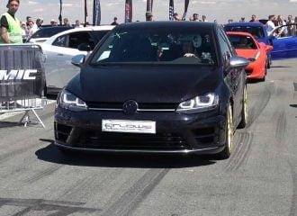 VW Golf R με «πειραγμένο» μοτέρ από Audi RS 3 (+video)