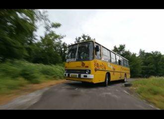 Λεωφορείο απ'τα παλιά σε ανάβαση «δίχως αύριο» (+video)