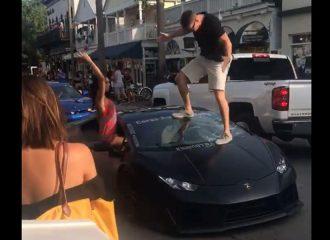 Αν είσαι άμυαλος… σπας τη Lamborghini σου! (+video)