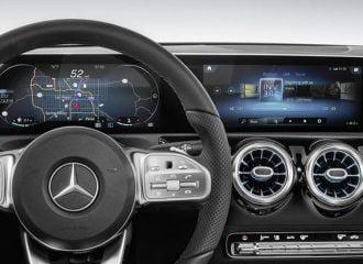Tο ψηφιακό ταμπλό της νέας Mercedes A-Class (+video)