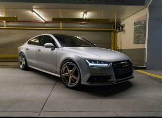 Το χρώμα αυτού του βελτιωμένου Audi S7 είναι σκέτο βελούδο! (+video)