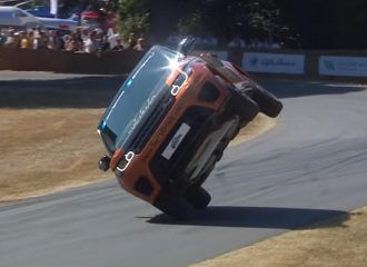 Range Rover Sport κάνει ρεκόρ με το… πλάι (+video)