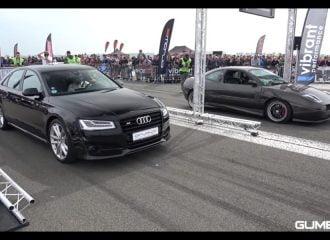 Audi S8 vs Fiat Coupe, BMW M3 και Audi S6 (+video)