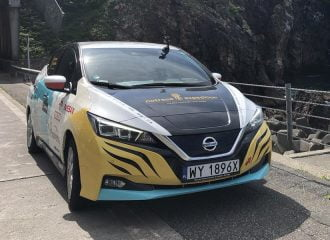 Nissan LEAF: Από την Ευρώπη στην Ιαπωνία χωρίς καύσιμο (+video)